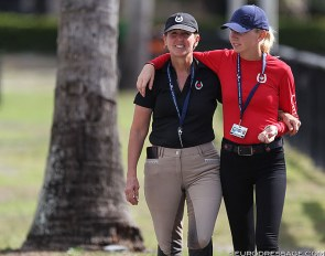Diane and Vanessa Creech at the 2019 CDI Wellington :: Photo © Astrid Appels