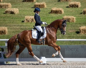 NIcola Haug and Fabritius at the 2020 CDN Donzdorf :: Photo © Jessica Stammer
