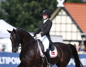 Maja Andreasen and Kano at the 2020 CDI Hagen :: Photo © Astrid Appels