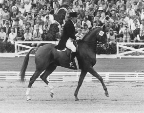 Lorna Johnstone and El Farucco xx at the 1972 Olympic Games