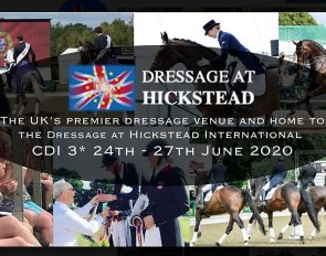The 2020 CDI Hickstead got cancelled due to Covid-19