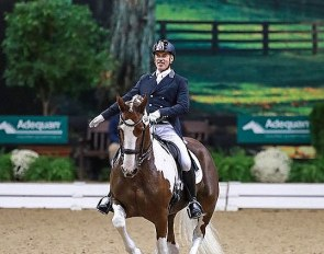 Jim Koford and Adiah at the 2019 USDF Dressage Finals in Lexington, KY :: Photo © Sue Stickle