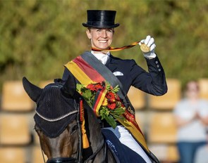 Jessica von Bredow-Werndl and Dalera BB win GP Special Gold at the 2020 German Dressage Championships :: Photo © Stefan Lafrentz
