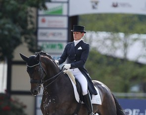 Senta Kirchhoff and L'Arbuste at the 2020 CDI Hagen :: Photo © Astrid Appels