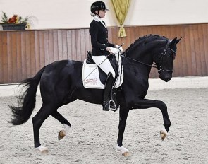 Simone Pearce and Quando Unico at the 2020 CDN Ankum on 14 October 2020