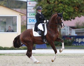Evelyn Eger and Flynn PCH at the 2020 CDI Hagen :: Photo © Astrid Appels