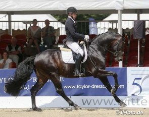 Andreas Müller and Formidable Star in 2018 :: Photo © LL-foto