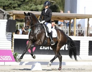 Lotte Straarup and Bournonville at the 2019 Falsterbo Horse Show :: Photo © Ridehesten
