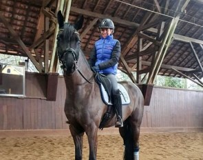 Caroline-Marie Scheufele is home again and returns her focus on riding with new star, Dante's Pearl