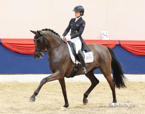 Kristina Bröring-Sprehe and Saphira Royal at the 2021 CDN Vechta :: Photo © LL-foto