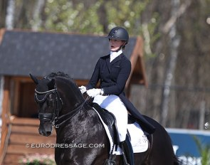 Denise Nekeman and Boston STR at the 2021 CDI Opglabbeek :: Photo © Astrid Appels