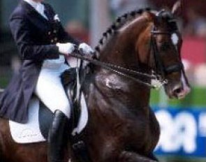 Birgitt van der Eijken on Landioso at the 2000 Dutch Championhips :: Photo © Arnd Bronkhorst
