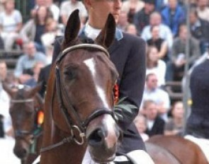Ingrid Klimke and Charming at the 2003 Bundeschampionate