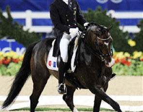 Marc Boblet and Whitni Star at the 2008 Olympic Games