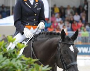 Incredible has won two silver individual medals and one team silver. During the lap op honor, the stallion received standing ovations from the audience bringing tears to the eyes of owner Annemiek van der Vorm