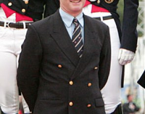 Richard Davison, captain of the British Dressage Team :: Photo © Astrid Appels