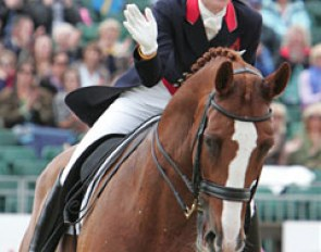 Laura Bechtolsheimer and Mistral Hojris had a great ride
