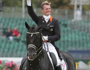 Edward Gal and Totilas reign supreme at the 2009 European Championships :: Photo © Astrid Appels