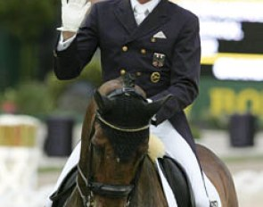 Dieter Laugks on Weltall at the 2010 CDIO Aachen :: Photo © Astrid Appels