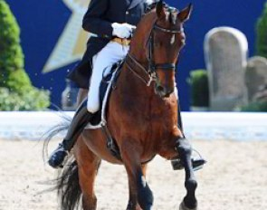 Hubertus Schmidt and Imperio made their debut at small tour level