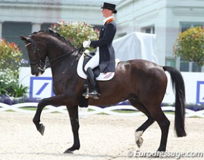 Imke Schellekens-Bartels and Toots at the 2012 CDIO Aachen :: Photo © Astrid Appels