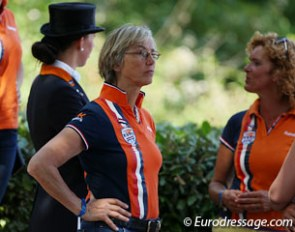 Dutch team trainer and Kooijman's trainer Tineke Bartels had hoped for Kur gold for her student