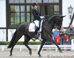 Anna Christina Abbelen on her second junior horse First Lady were the guinea pigs in the junior division