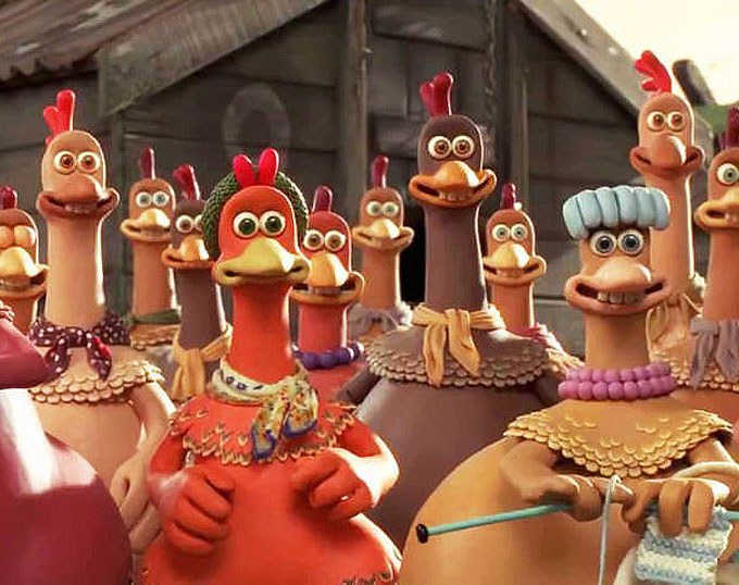 Chicken Run (2000, by Aardman Animations)
