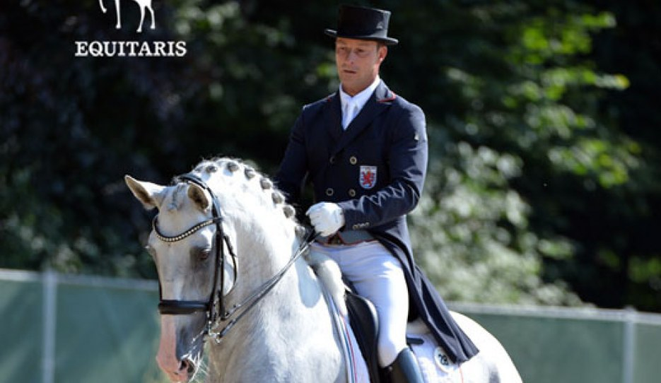 Sascha Schulz and Dressage Grand Ducal's Dragao das Figueiras :: Photo © Tanja Becker