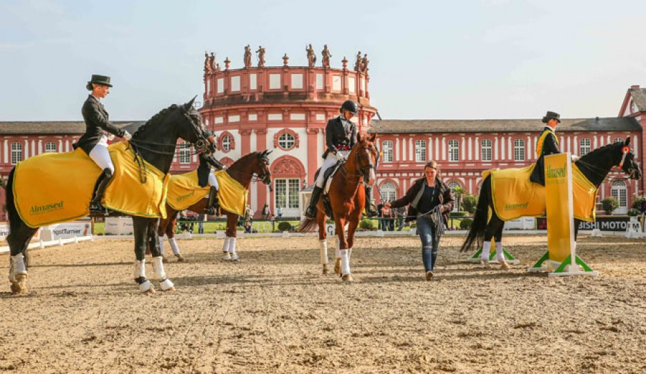 The 2018 Almased Dressage Amateurs leg in Wiesbaden, Germany