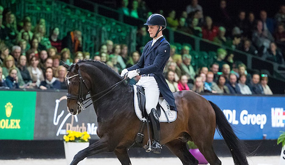 Daniel Bachmann Andersen and Blue Hors Zack at the 2019 CDI-W 's Hertogenbosch :: Photo © Digishots