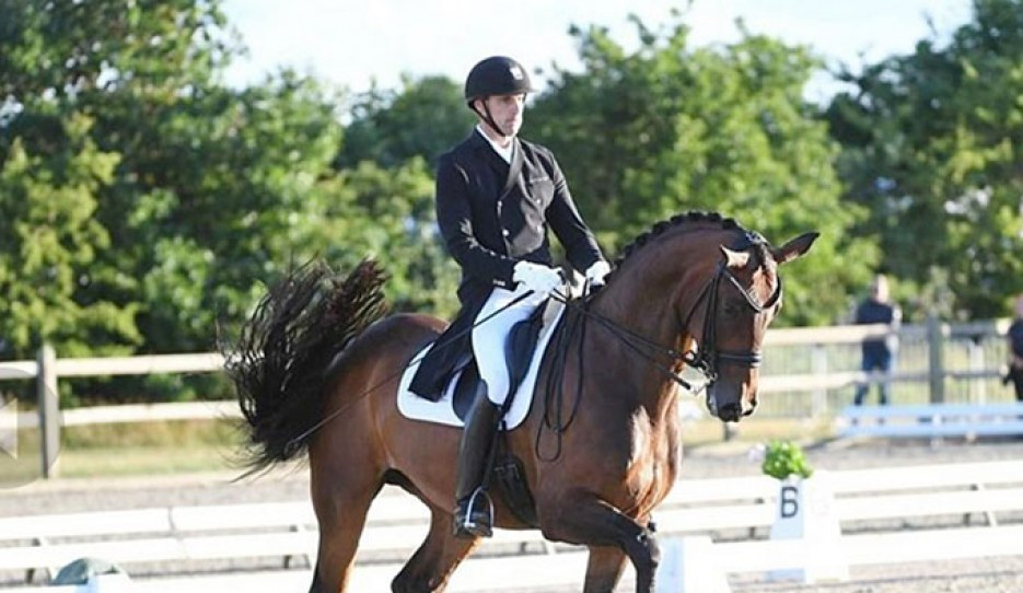 Andreas Helgstrand and Fiontini at the 2020 CDN Hjallerup :: Photo © Ridehesten