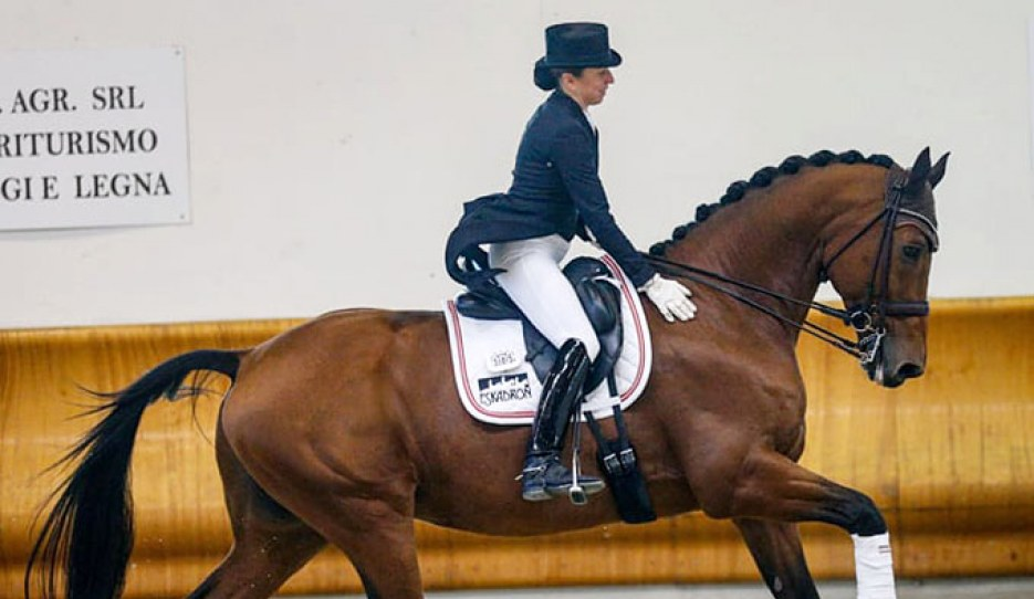 Astrid Neumayer and Zap Zap win big at the 2020 CDI Ornago :: Photo © Petra Kerschbaum