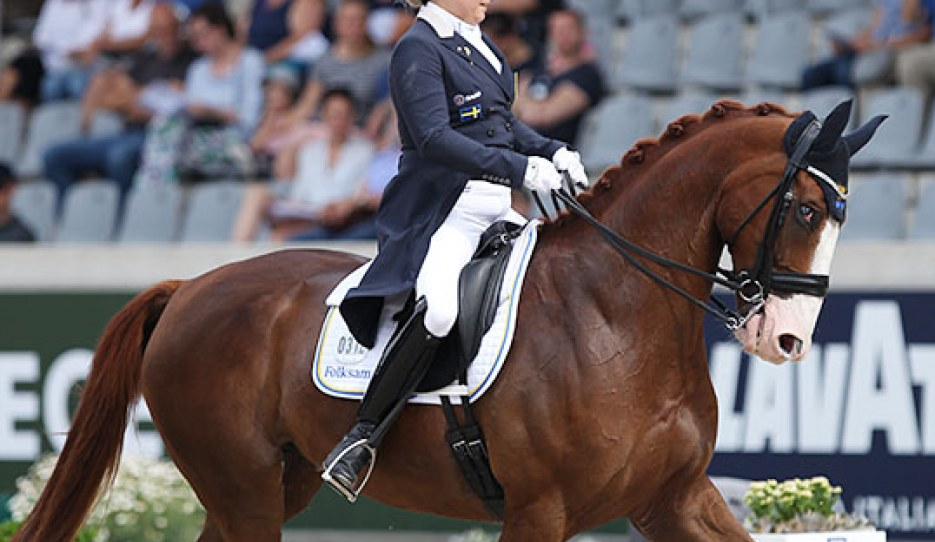 Michelle Hagman and Chagall H at the 2019 CDIO Aachen :: Photo © Astrid Appels