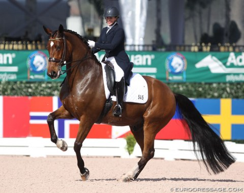 Heather Boo on Divertimento (by Di Versace), previously competed by Tinne Vilhelmson and Chris von Martels