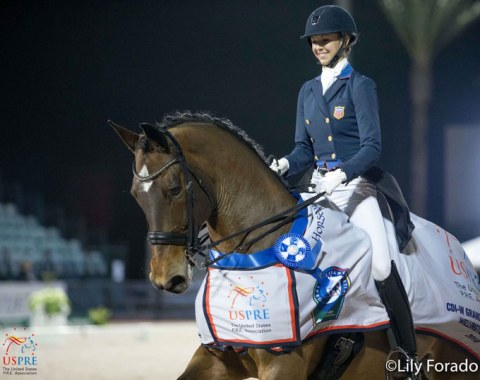 Laura Graves and Verdades win the World Cup Qualifier freestyle, sponsored by USPRE