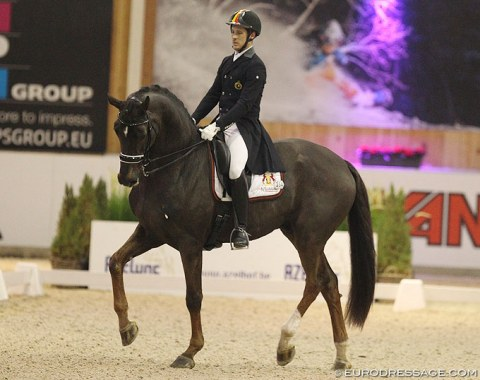 Simon Missiaen made his Grand Prix debut on Charlie (by Florencio x Osmium) at the 2018 CDI Lier