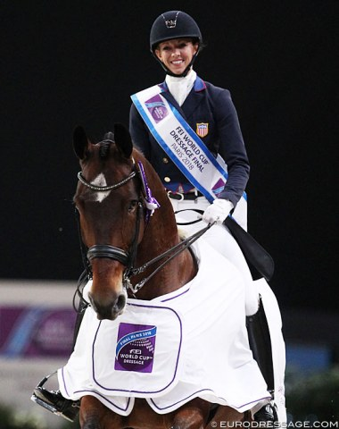 Laura Graves and the wonderful Verdades win the Grand Prix