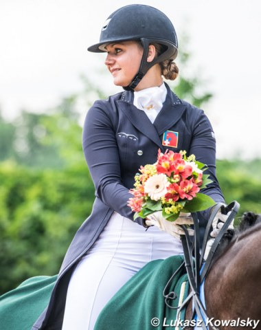 The multi-talented Estelle Wettstein who combines high performance dressage with show jumping