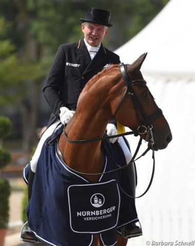 Hubertus Schmidt and Bonamour win the Nurnberger Burgpokal qualifier