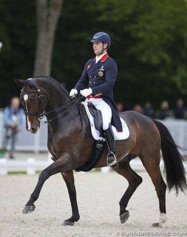 Spencer Wilton and his Olympic and WEG team horse Super Nova