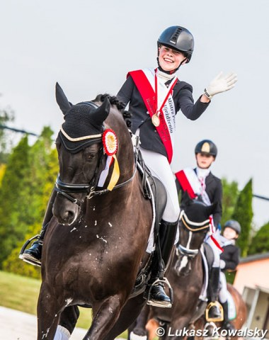 Polish Children's champion Tatiana Bierieznow on Fatuna S
