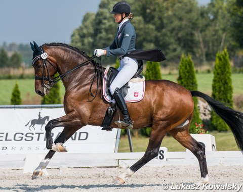 Young Rider champion Aleksandra Lesner on Force