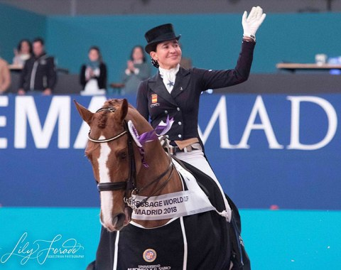 Beatriz Ferrer-Salat and Delgado win the first ever world cup qualifier held in Madrid