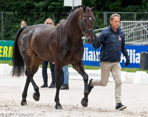 Carl Hester and Hawtins Delicato