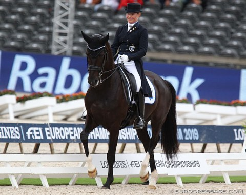 Mikaela Fabricius-Bjerre on Skovlunds Gamin G (by Gagarin x Saint Cloud)