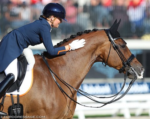 Anne Meulendijks and Avanti : First European Championship and straight to the Special