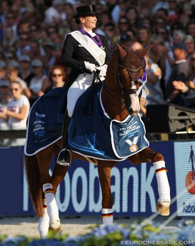 Isabell Werth is the 2019 European Dressage Champion