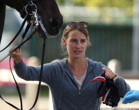 Camille Cheret Judet is currently training HRH Princess Siri, taking over from Jean Philippe Siat