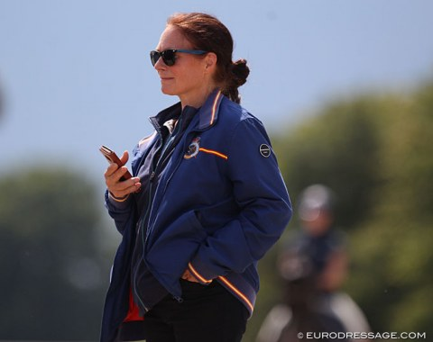 Spanish youth team trainer Jenny Eriksson